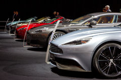 Aston Martin car Stock Image