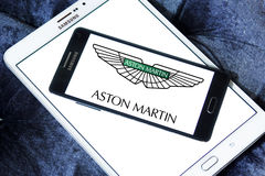 Aston martin car logo Stock Images