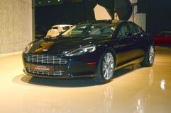 Aston Martin car in the showroom Royalty Free Stock Photos