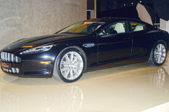 Aston Martin car in the showroom Royalty Free Stock Image