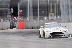 Aston Martin Cup at Singapore Formula One  - 10 Stock Images