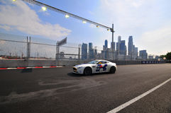 Aston Martin Cup at Singapore Formula One-3 Royalty Free Stock Photo