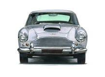Aston Martin DB4 stock illustratie