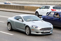 Aston Martin DB9 Royalty-vrije Stock Afbeelding