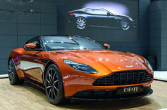 Aston Martin DB11 Royalty-vrije Stock Afbeeldingen