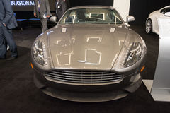 Aston Martin DB9 car on display at the LA Auto Show. Stock Photos