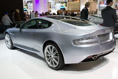 Aston Martin DB9 Centenary Edition car Stock Photography