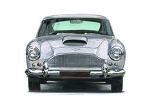 Aston Martin DB4. Illustration of an Aston Martin DB4 Royalty Free Stock Image