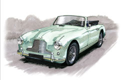Aston Martin DB2/4 Stock Photography