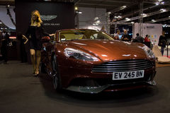 Aston Martin DB11 at Milano Autoclassica 2016 Stock Photography