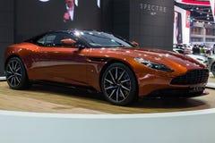 Aston Martin DB11, new 600bhp twin-turbo GT Stock Images