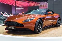 Aston Martin DB11, nieuwe 600bhp tweeling-turbogt Stock Afbeeldingen