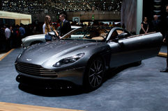 Aston Martin DB11 Volante at Geneva 2016 Stock Photo