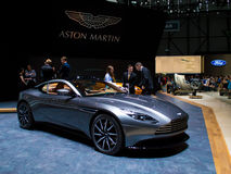 Aston Martin DB11 Volante at Geneva 2016 Royalty Free Stock Photography