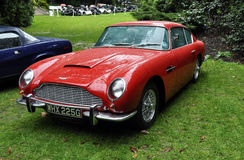An Aston Martin DB6 at Chelsea AutoLegends 2011 Royalty Free Stock Photography