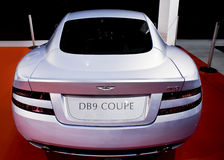 Aston Martin DB9 Coupe - REAR - MPH. Aston Martin had a strong presence at the MPH show with many models on exhibition. This model DB9 Coupe Royalty Free Stock Photos