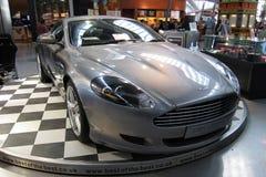 Aston Martin DB9 luxesportwagen Royalty-vrije Stock Foto's