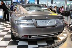 Aston Martin DB9 luxesportwagen Stock Afbeeldingen