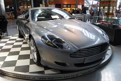Aston Martin DB9 luxury sport car Royalty Free Stock Photos