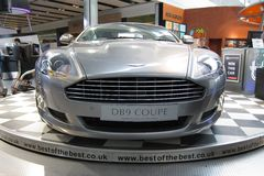 Aston Martin DB9 luxury sport car Stock Images