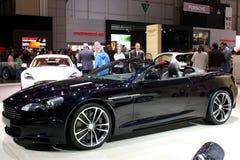 Aston Martin DBS UB2010 bij de Show van de Motor 2010, Genève Stock Afbeeldingen