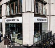 Aston Martin Dealership imagen de archivo