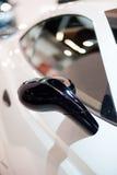 Aston Martin details op 63ste IAA Stock Foto