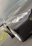 Aston Martin en el museo de Brooklands foto de archivo