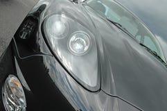 Aston Martin en el museo de Brooklands imagen de archivo