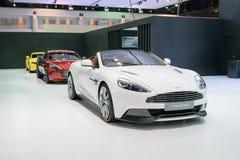 Aston Martin en el 36.o salón del automóvil internacional 2015 de Bangkok Fotografía de archivo