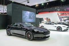 Aston Martin en el 36.o salón del automóvil internacional 2015 de Bangkok Fotos de archivo