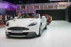 Aston Martin en el 36.o salón del automóvil internacional 2015 de Bangkok Foto de archivo libre de regalías