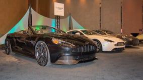 Aston Martin Exhibit Royalty Free Stock Photo