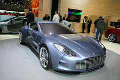 Aston Martin at Geneva 2009 Stock Photo