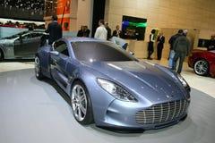 Aston Martin in Genf 2009 Stockfoto
