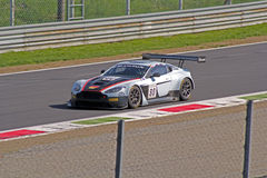 Aston Martin gt3 avvantaggioso Immagini Stock Libere da Diritti