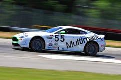 Aston Martin GTR racing Royalty Free Stock Photo