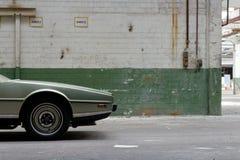 Aston Martin Lagonda †'pojazdu przód od strony Fotografia Royalty Free