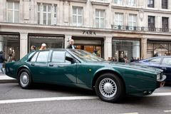 Aston Martin Lagonda on public display Royalty Free Stock Image