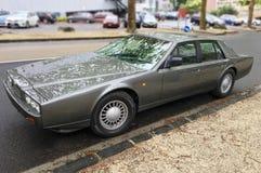 Aston Martin Lagonda Series 4 Front Corner fotografia stock libera da diritti