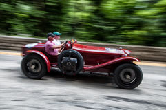 ASTON MARTIN Le Mans 1933 Stock Afbeeldingen