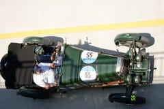 1929 Aston Martin Le Mans in Mille Miglia Stock Afbeeldingen