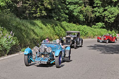 Aston Martin Le Mans (1933) in Mille Miglia 2016 Stock Photo