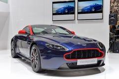 Aston Martin N430 à Genève 2014 Motorshow Photo libre de droits