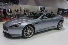 Aston Martin New DB9 kupébil Arkivfoto