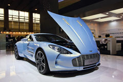 Aston Martin one-77 Royaltyfri Foto