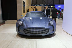 Aston Martin One-77 - 2009 Geneva Motor Show Stock Photo