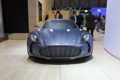 Aston Martin One-77 - 2009 Geneva Motor Show Stock Photo