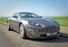 Aston Martin overwint Royalty-vrije Stock Foto's