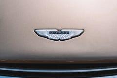 Aston Martin overwint auto Stock Fotografie